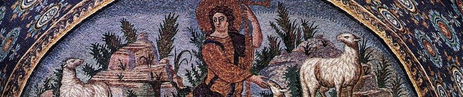 Mosaic of the Good Shepherd at Ravenna, AD 440